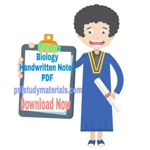 Biology Handwritten Notes PDF